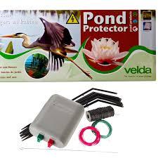 Velda Garden Pond Protector Electric Fence Kit Stops Herons Cats Birds Fish Koi Ebay