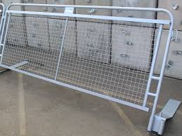 Concord Crowd Protection Barrier For Hire Or Sale Safesite Facilities