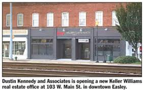 Dustin Kennedy and Associates opens new Keller Williams real estate office  in Easley