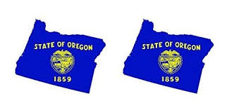 Two Pack Oregon State Shaped Flag Sticker Self Adhesive Vinyl Decal Or Fagraphix 3091cfbfa 2 Fa4823 Exterior Accessories Bumper Stickers Decals Magnets
