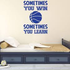 Vinyl Decor For Girls Bedroom Or Playroom Your Team Sports Decorations Volleyball Or Basketball Wall Decal