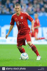 Bastian SCHWEINSTEIGER, FCB, Bundesliga, il calcio tedesco campionato  federale, FC Schalke 04 - FC Bayern Monaco 0:2, Veltins Arena Foto stock -  Alamy