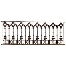 19th Century Cast Iron Gothic Fence Panels In 2020 Cast Iron Fence Wrought Iron Driveway Gates Fence Panels