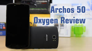 Archos 50 Oxygen Review - YouTube