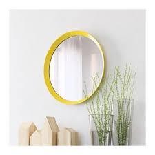 beautiful ikea yellow mirror furniture
