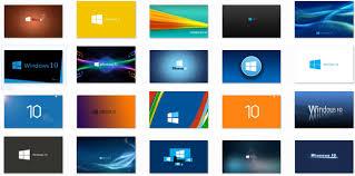 خلفيات ويندوز 10 خفيفة بتصاميم رائعة منتديات المشاغب