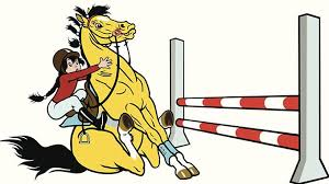 Troubleshooting Stopping At The First Jump On Course Horse Cartoon Horse Jumping Horses