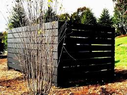 Horizontal Wood Privacy Fencing For Dumpster Enclosure Wood Privacy Fence Privacy Fences Outdoor Fencing