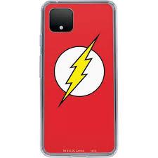 The Flash Emblem Pixel 4 Xl Clear Case Dc Comics