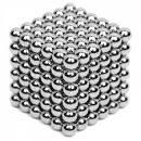 216pcs 5mm Magnetic DIY Ball Silver