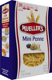 100 semolina mini penne mueller s pasta