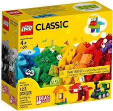 Đồ chơi lắp ráp LEGO Classic 11001 - Hộp Gạch Sáng Tạo 123 mảnh ghép (LEGO  11001 Bricks and Ideas)