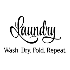 Laundry Wash Dry Fold Repeat Wall Quotes Decal Wallquotes Com
