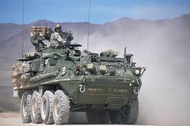 """As Viaturas Blindadas """"Stryker"""" no Campo de Batalha Moderno"""