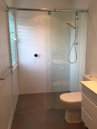 sliding frameless shower screen sydney