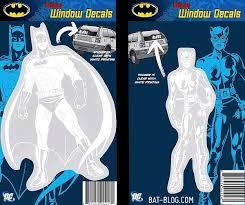 Bat Blog Batman Toys And Collectibles New Dc Comics Batman Family Car Window Decals