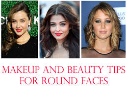 beauty and makeup tips for round faces