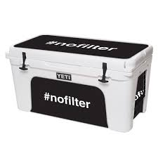 Mightyskins Skin For Yeti Tundra 110 Qt Cooler Lid Blessed Protective Durable And Unique Vinyl