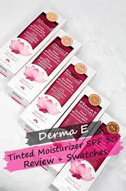 derma e tinted moisturizer review
