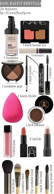 must have makeups for beginners