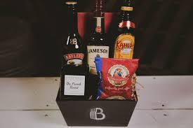 irish coffee gift basket with kahlua