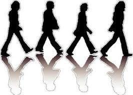 Beatles Vinyl Decal Sticker