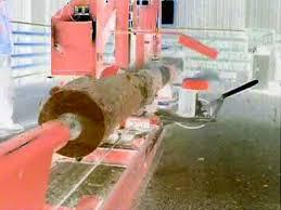 ll 41 log lathe log turning machine