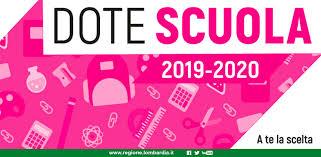 Dote scuola 2019/2020 | Riconoscimento del merito - Collegio Volta ...