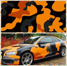 2020 Large Orange Camo Vinyl Full Car Wrap Graphic Camouflage Foil Stickers With Camo Truck Covering Foil With Air Free Size 1 52 X 30m Roll From Bestcarwrap 138 45 Dhgate Com