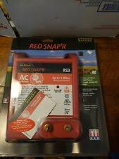 Zareba Red Snap R Lis3b Solar 3 Mile Electric Fence Controller Charger 6v For Sale Online Ebay