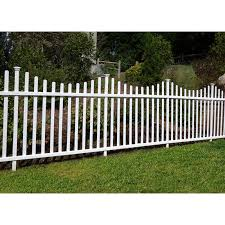 Zippity Outdoor Products 3 5 Ft H X 7 5 Ft W Manchester Semi Permanent Fence Panel Reviews Wayfair