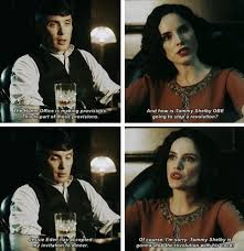 Peaky Blinders Thomas and Ada Shelby | Peaky blinders quotes ...