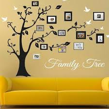 Family Tree Wall Decal Picture Frame Wall Decals Living Room Trees For Walls Tree Sticker Frames Family Tree Decal With Frames E33 Family Tree Wall Family Tree Wall Decal Tree Wall