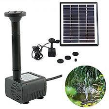 com xinyi solar fountain pump