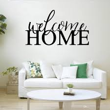 Welcome Home Wall Stickers Office Vinyl Wall Decal Words Decor Living Room Rustic Farmhouse Home Decoration Self Adhesive Childrens Removable Wall Stickers Childrens Wall Decals From Liyijian 9 62 Dhgate Com