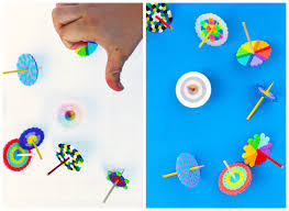 DIY TOYS: Spinning Tops (+ Magical Disappearing Colors) - Babble ...