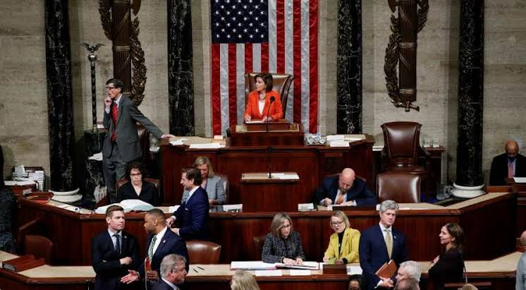 """Image result for Trump impeachment effort passes first test in divided U.S. Congress"""""""