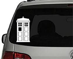 Amazon Com Doctor Who Tardis Car Window Vinyl Decal Sticker 5 5 Tall Keen150 Automotive