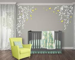 Hanging Vines And Leaves Floral Wall Decals Set With Etsy Floral Wall Decals Wall Murals Painted Diy Nursery Wall Decals