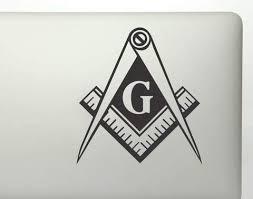 Freemason Masonic Lodge Mason Square Vinyl Decal Sticker