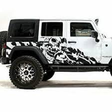 Nightmare Jk Jeep Wrangler Wrap Decal