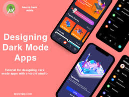 android dark mode designing tutorial by