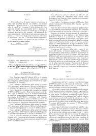 COVID-19 - Decreto del Presidente del Consiglio dei Ministri ...