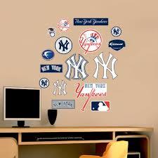 Shop Fathead Jr Yankees Logosheet Wall Decals Overstock 9126518