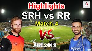 SRH Vs RR Highlights