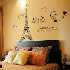 Paris Eiffel Tower Art Decal Mural Wall Sticker Removable Home Bedroom Decor Us For Sale Online