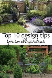 top 10 tips for small garden design