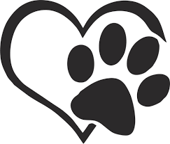 Heart And Paw Vinyl Decal Label Sticker Decals N More