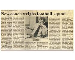 Newspaper Articles - Cardinal Football