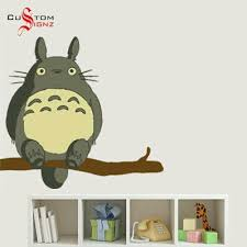 Pin By Pholove On Home Pinas Totoro Nursery Wall Decals Wall Sticker Inspiration